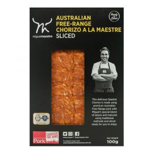 Miguel Maestre - Australian Free-Range Chorizo a la Maestre Sliced
