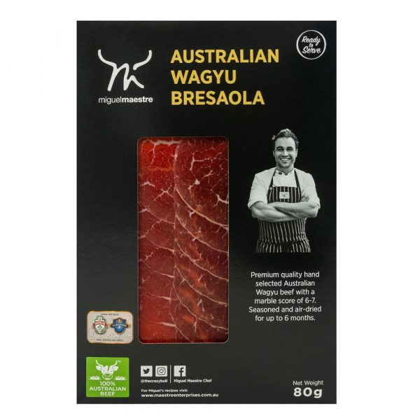 Miguel Maestre - Australian Wagyu Bresaola