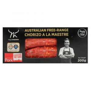Miguel Maestre - Australian Free-Range Chorizo a la Maestre