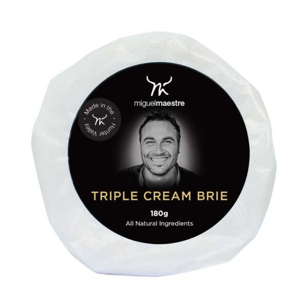 Miguel Maestre - Triple Cream Brie